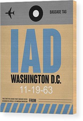 Washington D.c Wood Prints