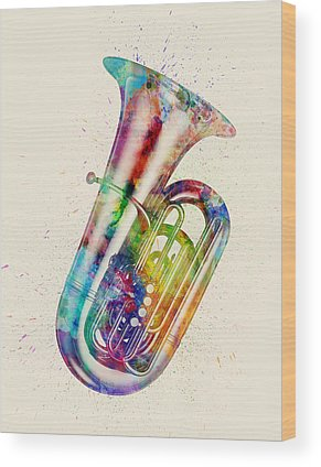 Tubas Wood Prints