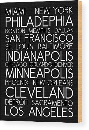 Detroit Wood Prints
