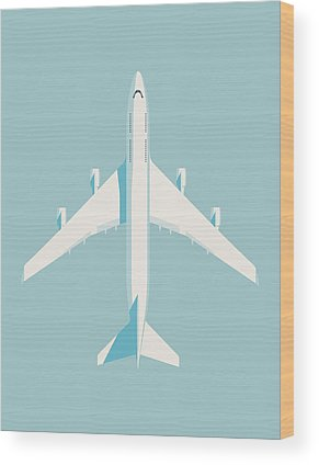 Airline Wood Prints