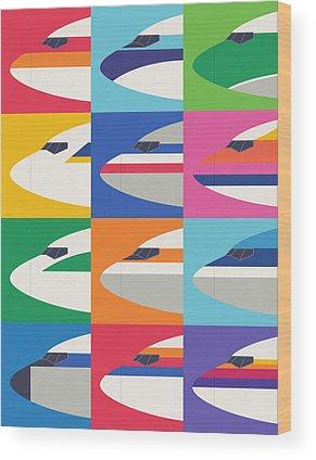Boeing Wood Prints