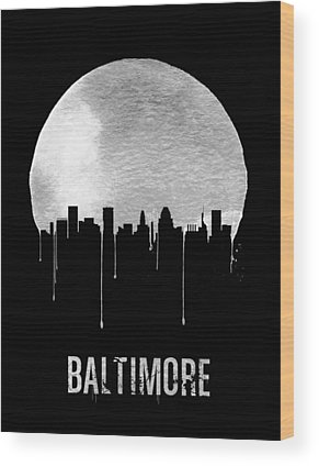 Baltimore Maryland Wood Prints