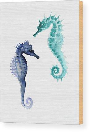Aquatic Wood Prints