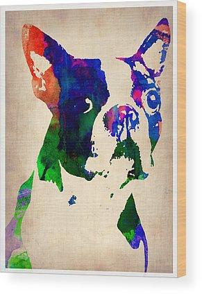 Terriers Wood Prints