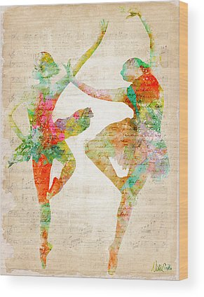 Prima Ballerina Wood Prints