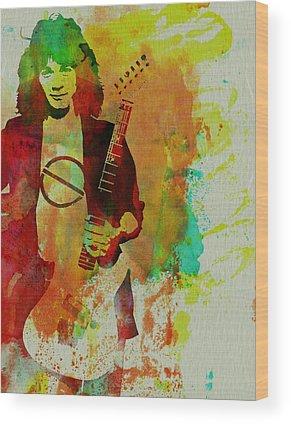 Van Halen Wood Prints