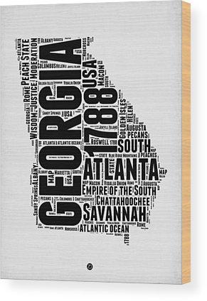 Savannah Georgia Wood Prints