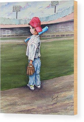 Baseball Bats Wood Prints