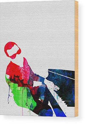 Jazz-funk Wood Prints