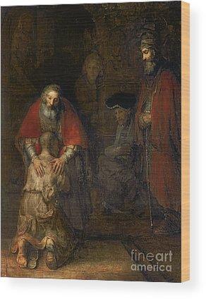Parable Wood Prints