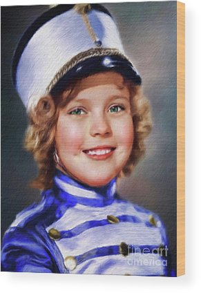 Shirley Temple Wood Prints