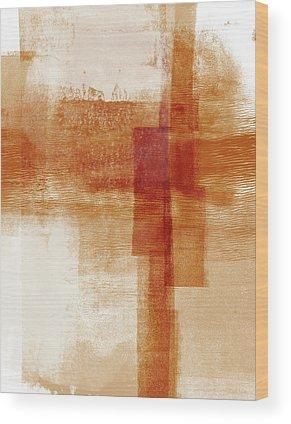 Earthy Abstract Art Wood Prints