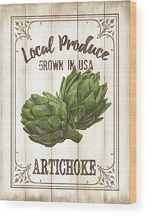 Artichoke Wood Prints
