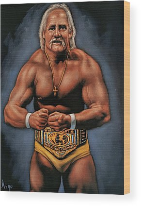 World Wrestling Federation Wood Prints