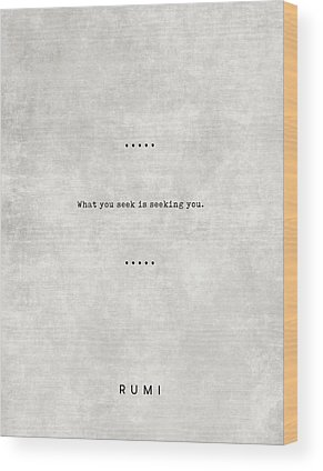 Rumi Wood Prints