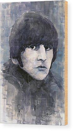 Ringo Star Wood Prints