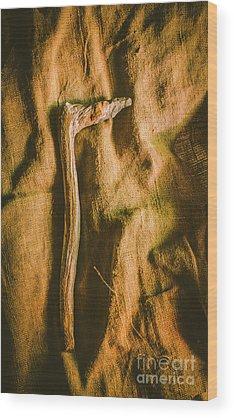 Stone Age Wood Prints