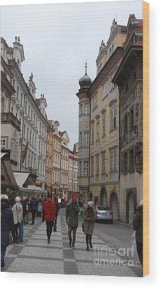 Europe Wood Prints