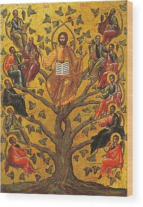 Man Of God Wood Prints