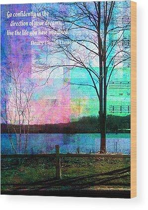 Lakeview Wood Prints