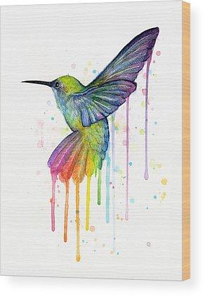 Watercolors Wood Prints