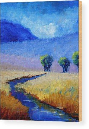 Lavender Mist Wood Prints