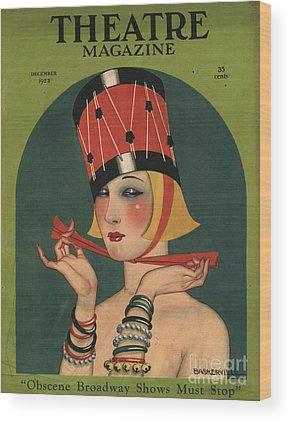Magazine Wood Prints