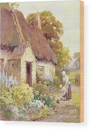 Country Cottage Wood Prints