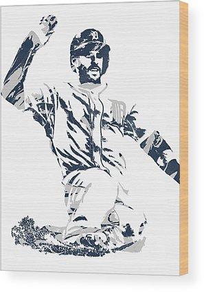 Detroit Tigers Art Wood Prints