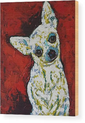 Dogs Wood Prints