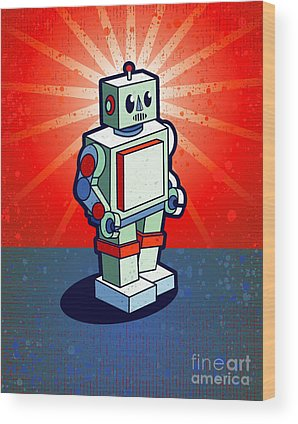 Designs Similar to Old School Robot by Artplay