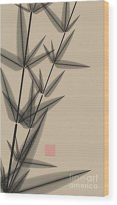 Vertical Line Wood Prints