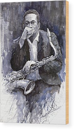 Jazz Wood Prints