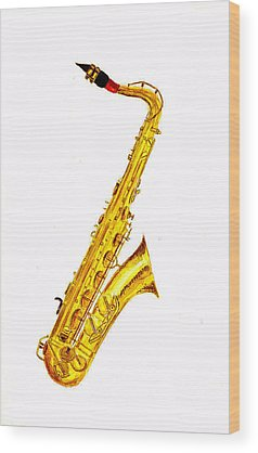 Musical Instrument Wood Prints
