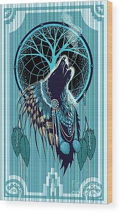 Cherokee Wood Prints