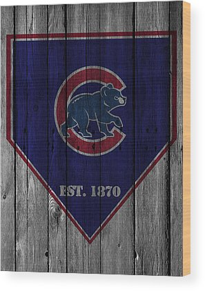 Chicago Cubs Wood Prints