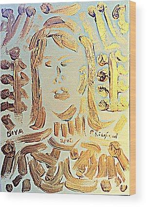 La Senza Wood Prints