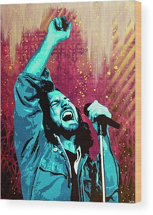 Pearl Jam Wood Prints