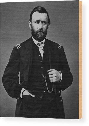 Commander Wood Prints