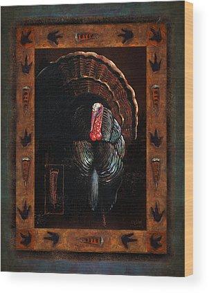 Turkey Wood Prints