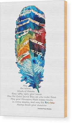 Poems Wood Prints