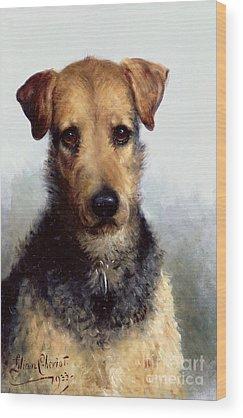 Fox Terrier Wood Prints