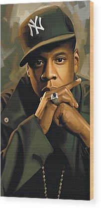 Jay Z Wood Prints