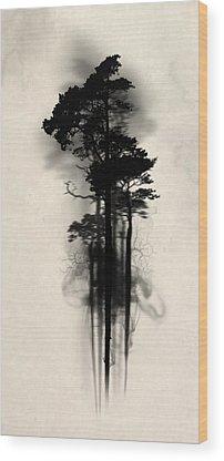 Magician Wood Prints