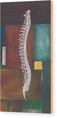 Spines Wood Prints
