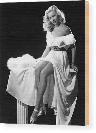 Gloria Grahame Photographs Wood Prints