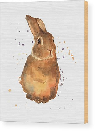 Bunny Rabbit Wood Prints