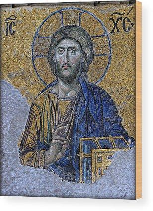 Byzantine Icon Wood Prints