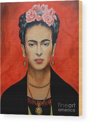 Frida Wood Prints