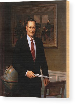 George Bush Wood Prints